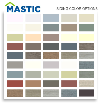 Mastic Siding Colors 3g Home Exteriors Florida